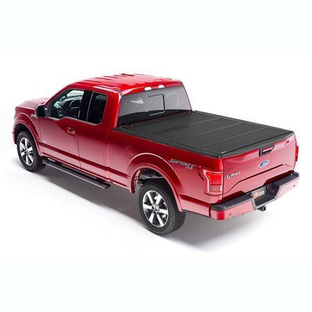 Hard Truck Bed Tonneau Covers - Bak Industries Bak Flip MX4 Hard Roll Up Tonneau Truck Bed Cover for Ford F 150