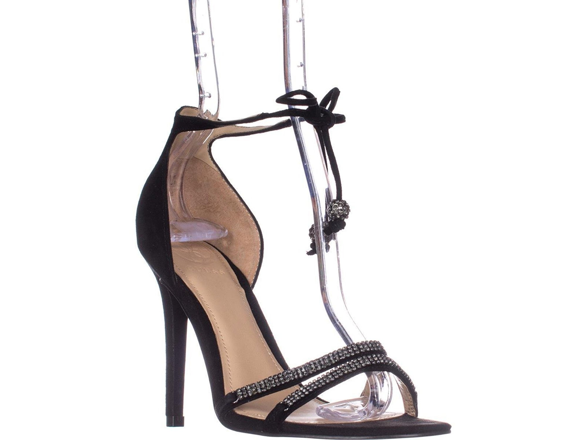 Guess Peri Tie Up Ankle Strap Heeled
