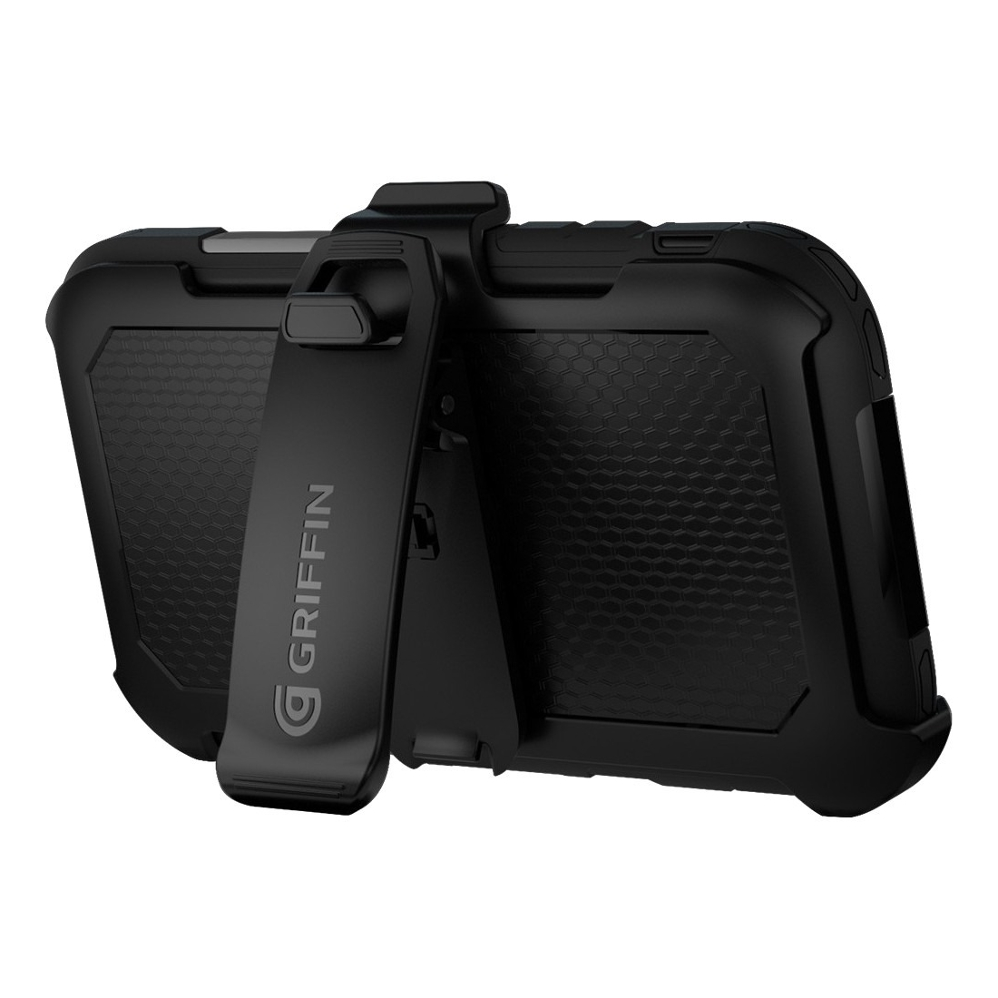 Griffin Survivor Summit Carrying Case For Iphone 6 Plus, Iphone 6s Plus - Clear, Black - Drop Resistant, Splash Resistant, Dirt Proof, Sand Proof, Rain Proof, Impact Resistant, Shatter (gb41618)