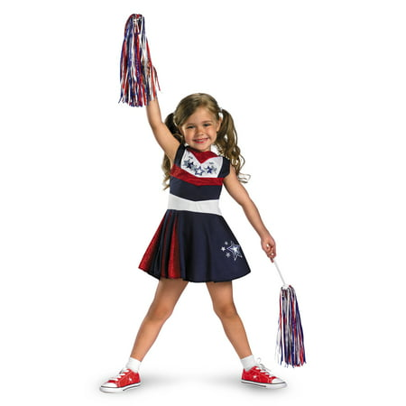 Toddler Superstar Spirit Cheerleader Costume Disguise 25969