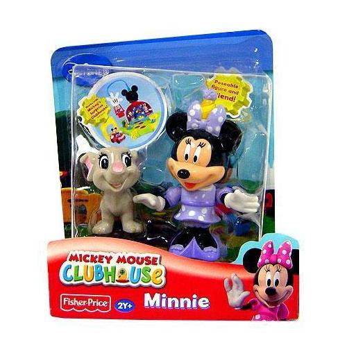 Disney Mickey Mouse Clubhouse Minnie with Elephant Figure 2-Pack