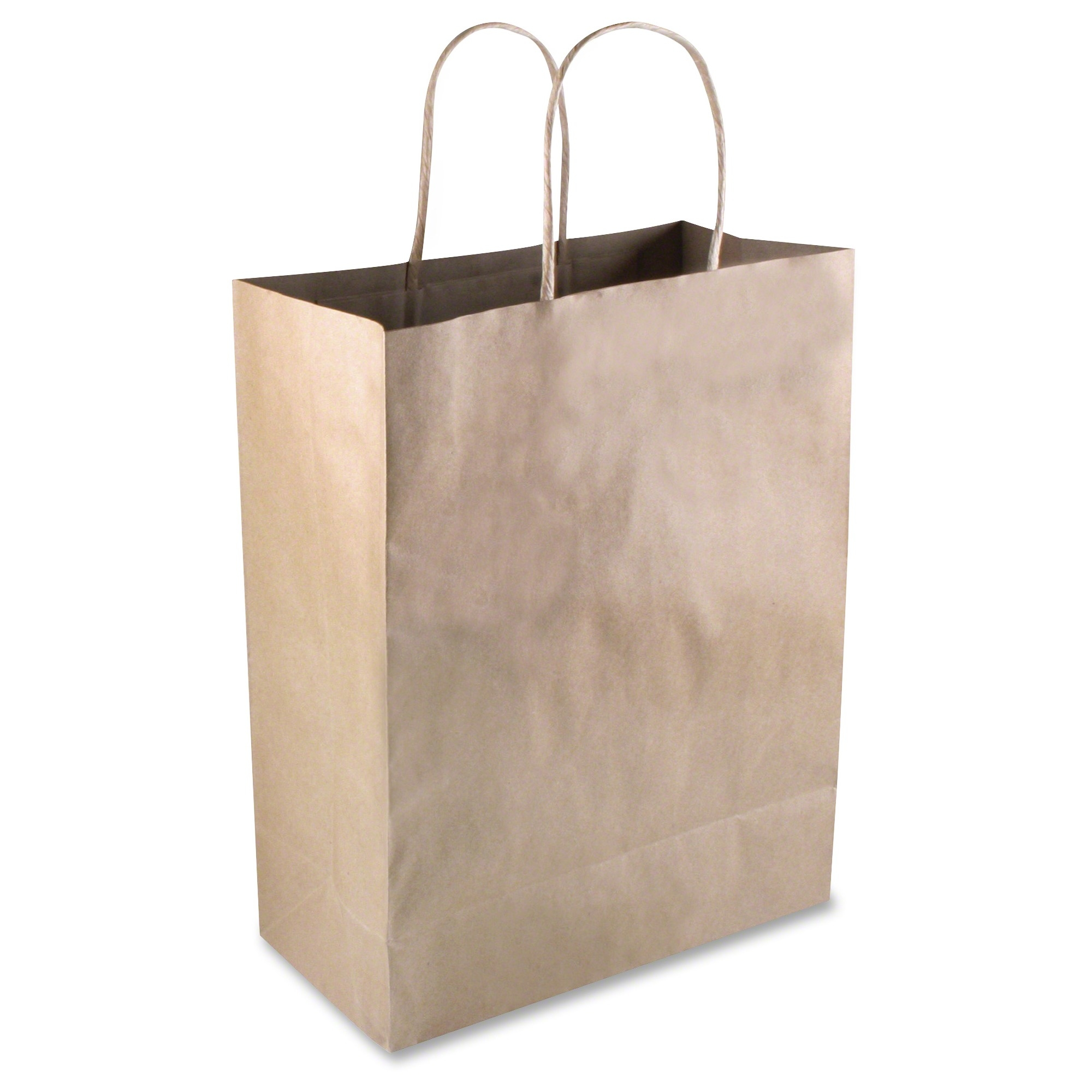 Cosco Premium Large Brown Paper Shopping Bags - 10