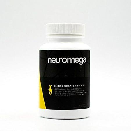 - Neuromega- Elite Omega-3 Fish Oil -Premium Brain- Joints- Heart Health Supplement(30 Servings)