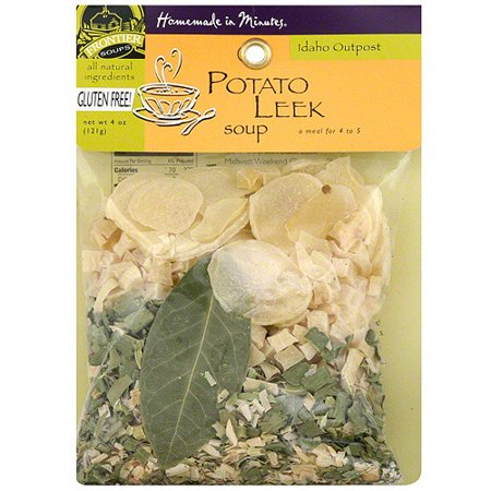 Homemade In Minutes Idaho Outpost Potato Leek Soup, 3.25 oz (Pack of