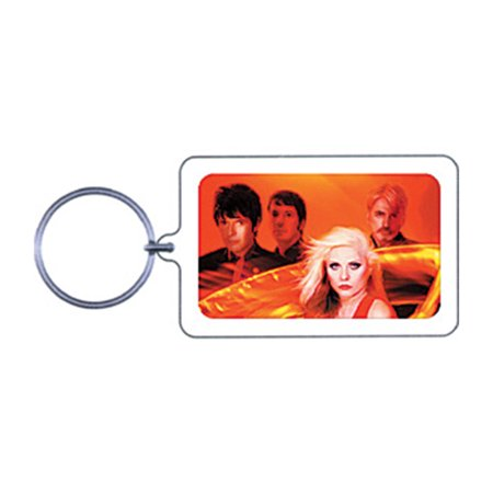 Blondie Photo Plastic Key Chain Multi ()