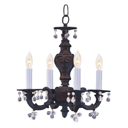 Crystorama Paris Market 5224-AW-CLEAR Chandelier