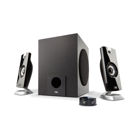 Cyber Acoustics 18W 2.1 Multimedia Speaker System with