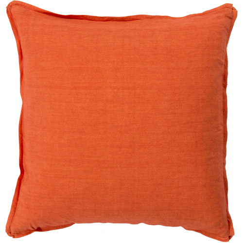 Art of Knot Linen Decorative Pillow with Polyester Fill