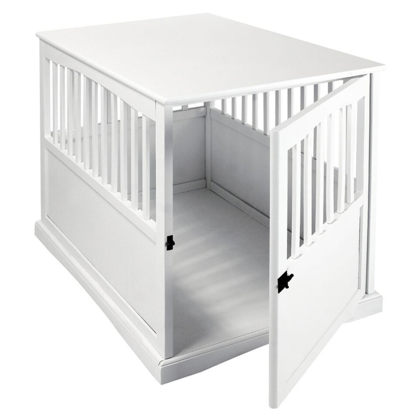 Pet Crate End Table-Black