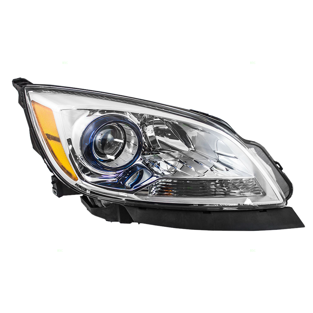 Passengers Halogen Combination Headlight Headlamp Replacement for Buick Verano 23216003