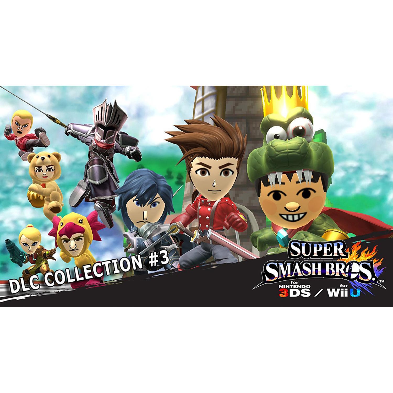 Super Smash Bros. DLC Collection #3, Nintendo, WIIU, [Digital Download], 0004549666075