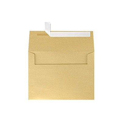 a7 invitation envelopes w peel amp press 5 1 4 x 7 1 4 blonde