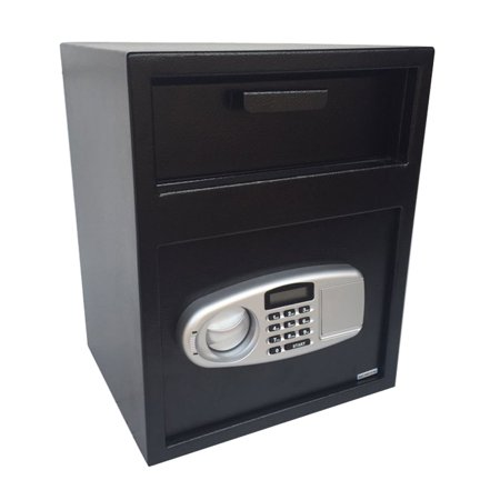 - Zimtown Digital Safe Box Depository Drop Deposit Front Load Cash Vault Lock Home Jewelry