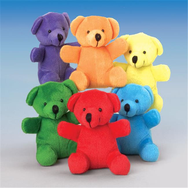 Super Soft Stuffed Animals For Babies, Us Toy Company Sb399 Mini Bears Pack Of 12 Walmart Com Walmart Com