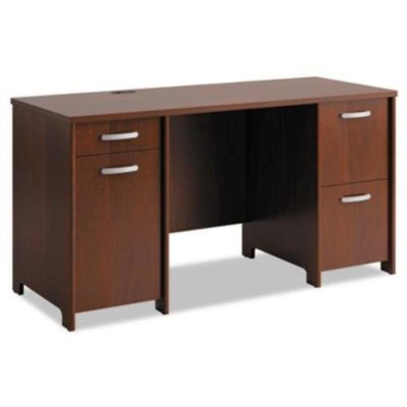Envoy Double Pedestal Desk 58w X 23 1 4d X 30 1 4h