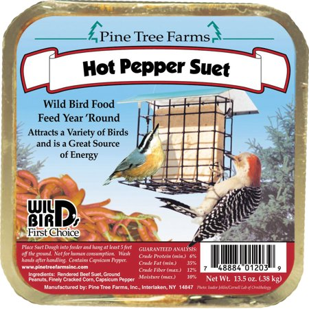 Pine Tree Farms Inc-Suet Cake- Hot Pepper 12