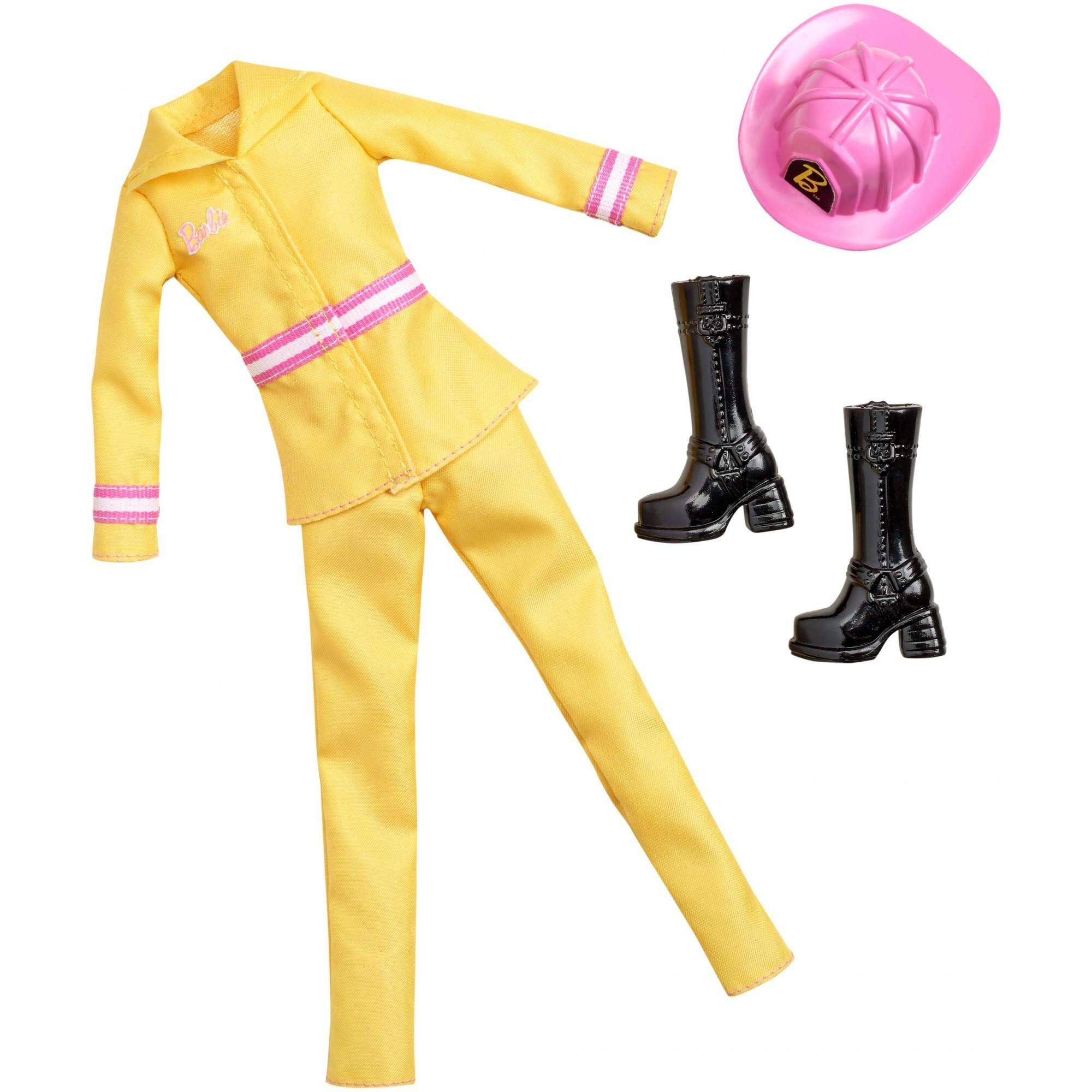 Barbie Careers Firefighter Fashion Set