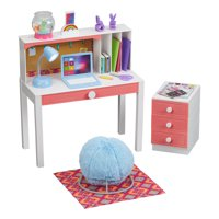 "My Life As Desk Play Set for 18"" Dolls, 24 Pieces, Choose from 2 Styles"
