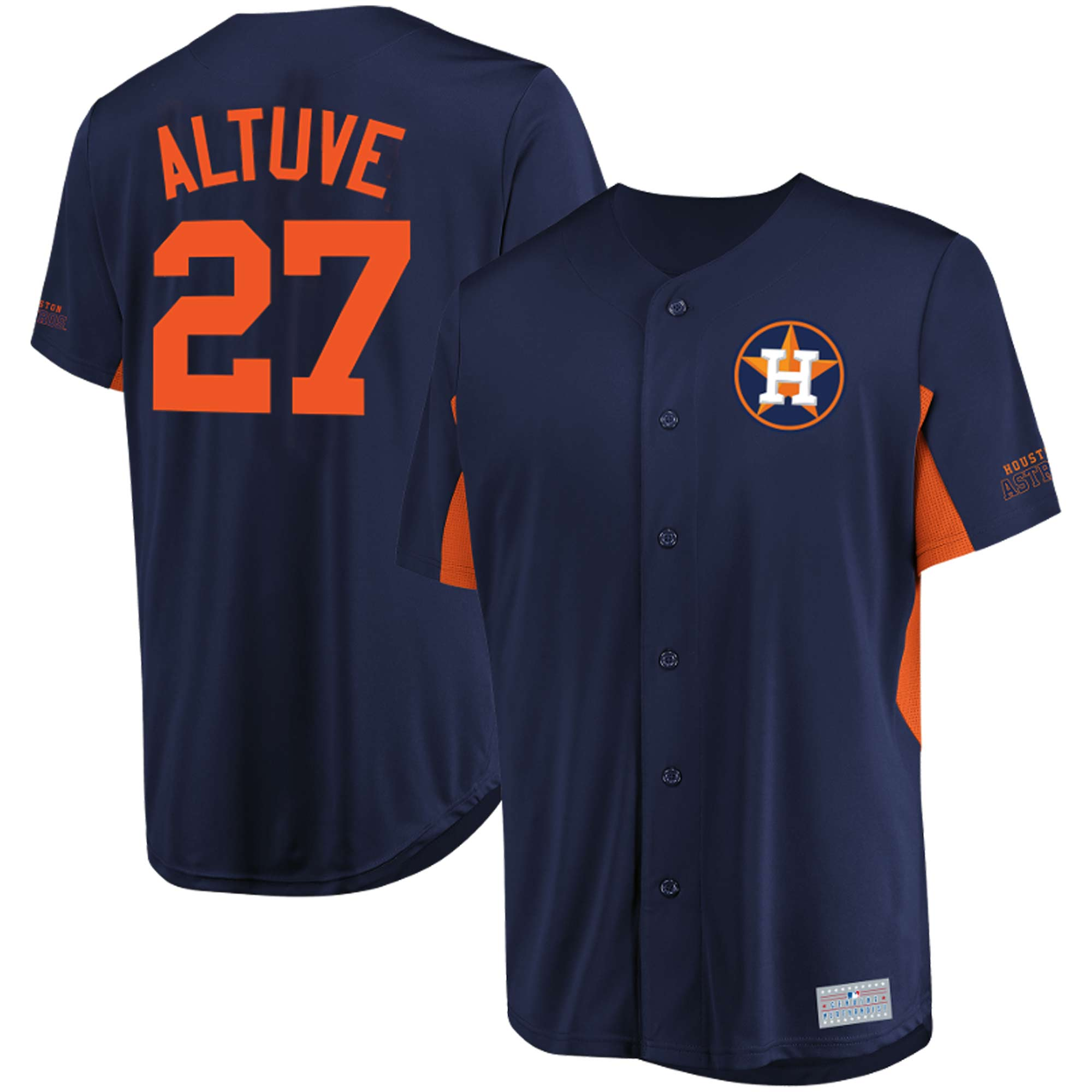 Jose Altuve Houston Astros Majestic MLB Jersey - Navy