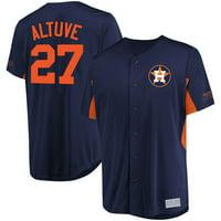b96b0b30e0a Product Image Jose Altuve Houston Astros Majestic MLB Jersey - Navy