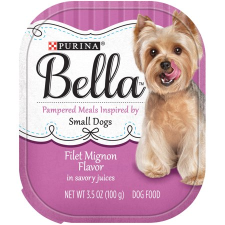 Halloween Savory Food (Purina Bella Filet Mignon Flavor in Savory Juices Small Breed Wet Dog Food Trays, 3.5-Oz, Case of)