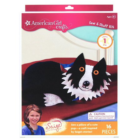 Crafts Dog Sew and Stuff Kit, 2013 Girl of The Year Saige, Craft inspired by Saige; Girl of the Year 2013 from American Girl By American Girl,USA