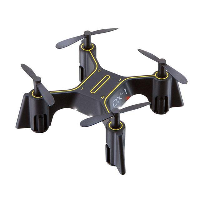 Sharper Image 9396086 Dx Nano Remote Control Drone Black Plastic