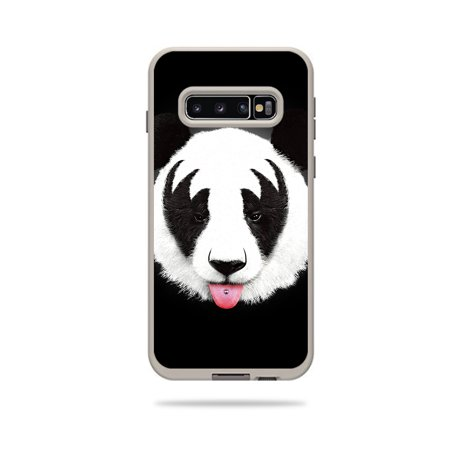 Skin For Lifeproof Fre Case Samsung Galaxy S10 - Rock N Roll Panda | MightySkins Protective, Durable, and Unique Vinyl Decal wrap cover | Easy To Apply, Remove, and Change Styles