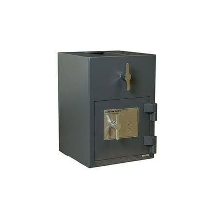 Hollon RH-2014K Rotary Hopper Deposit Safe with Key (Hopper Deposit Safe)