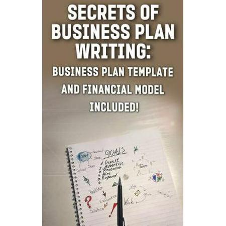 Secrets of Business Plan Writing: - eBook (Writing A Business Plan For A Bar)