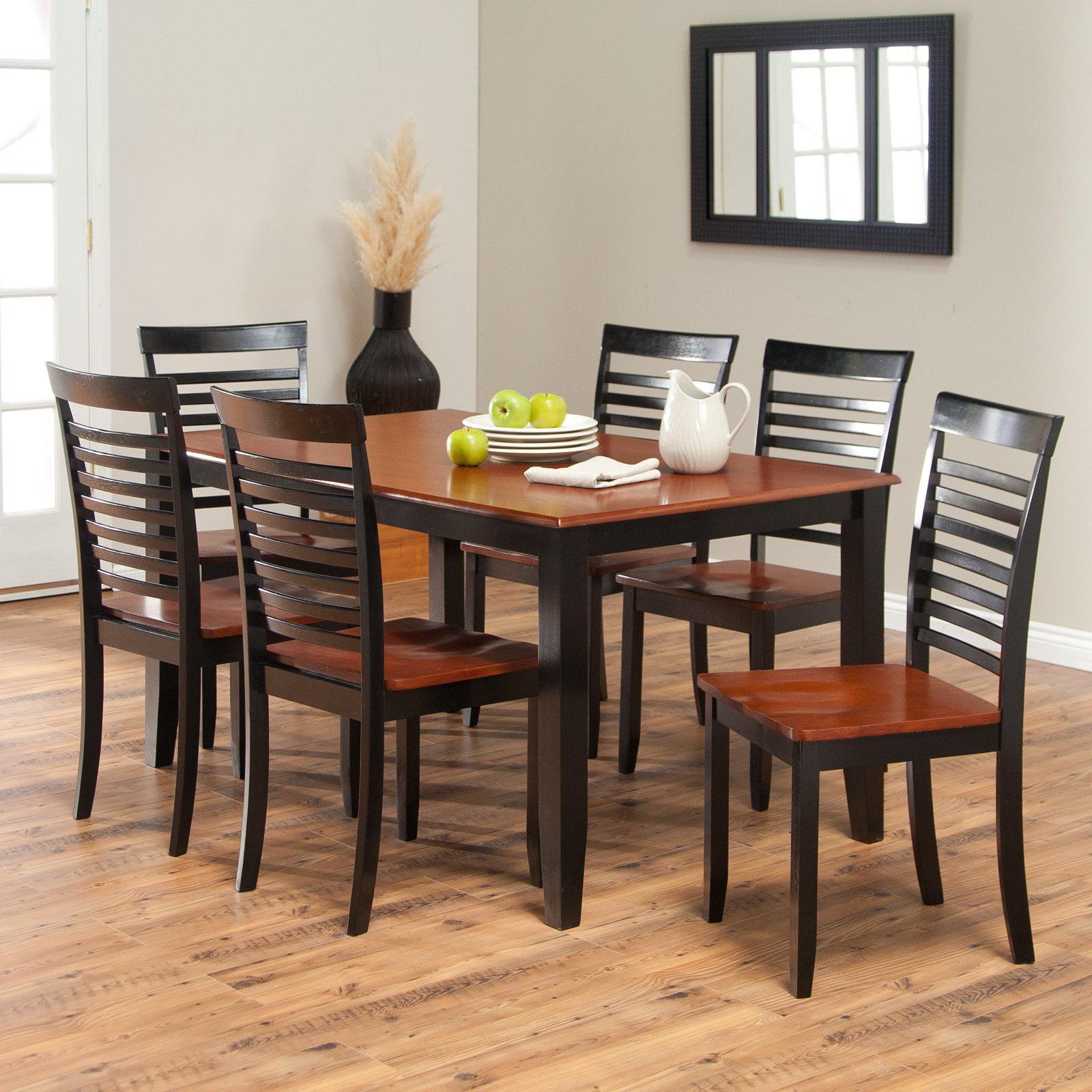 Boraam bloomington dining table set black cherry walmart com