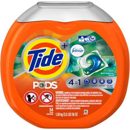 Tide Pods Plus Febreze Odor Defense Laundry Detergent Pacs