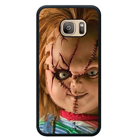 Ganma Case For Samsung S8 PLUS TPU Designed with Scary Chucky Doll Black TPU Case For Samsung Galaxy S8 PLUS](Scary Chucky)