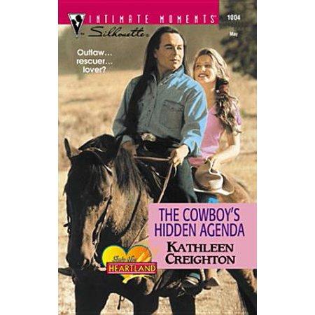 The Cowboy's Hidden Agenda - - Hidden Agenda Jacket