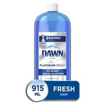 Dish Soap: Dawn Platinum Dishwashing Foam