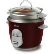 Oster 6-Cup Rice Cooker and Steamer 4722