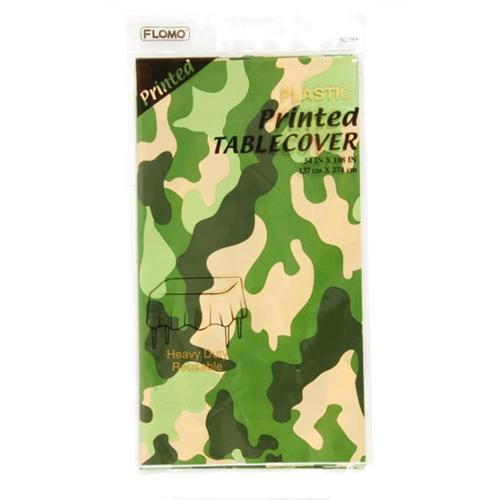Printed Camouflage Table Cover (36 Units Included)