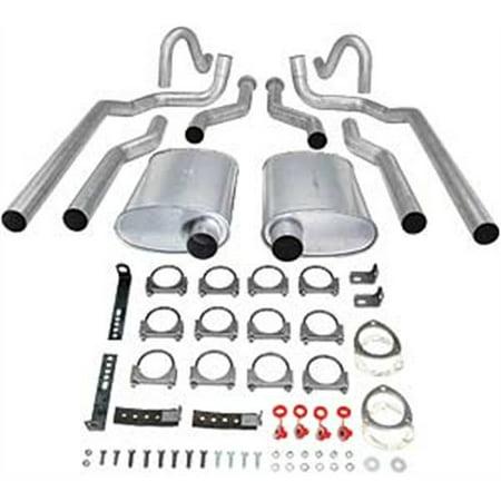 JEGS 30556 Header-Back Dual 2-1/2
