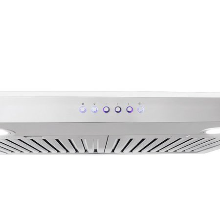 30 Self Cleaning Range (ProLine Range Hoods 30'' 600 CFM Ducted Under Cabinet Range Hood )