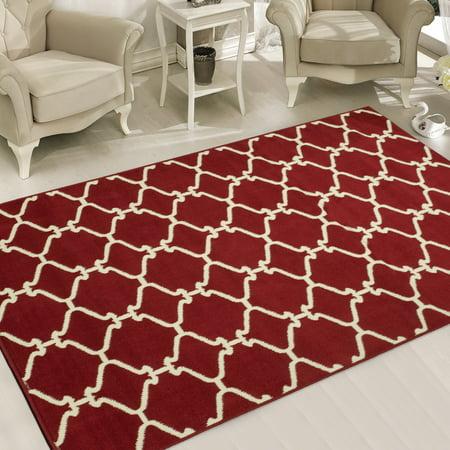 (Sweet Home Stores Clifton Moroccan Trellis Design Area Rug)