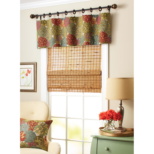 Better Homes and Gardens Mumsfield Valance Multi Color Walmartcom