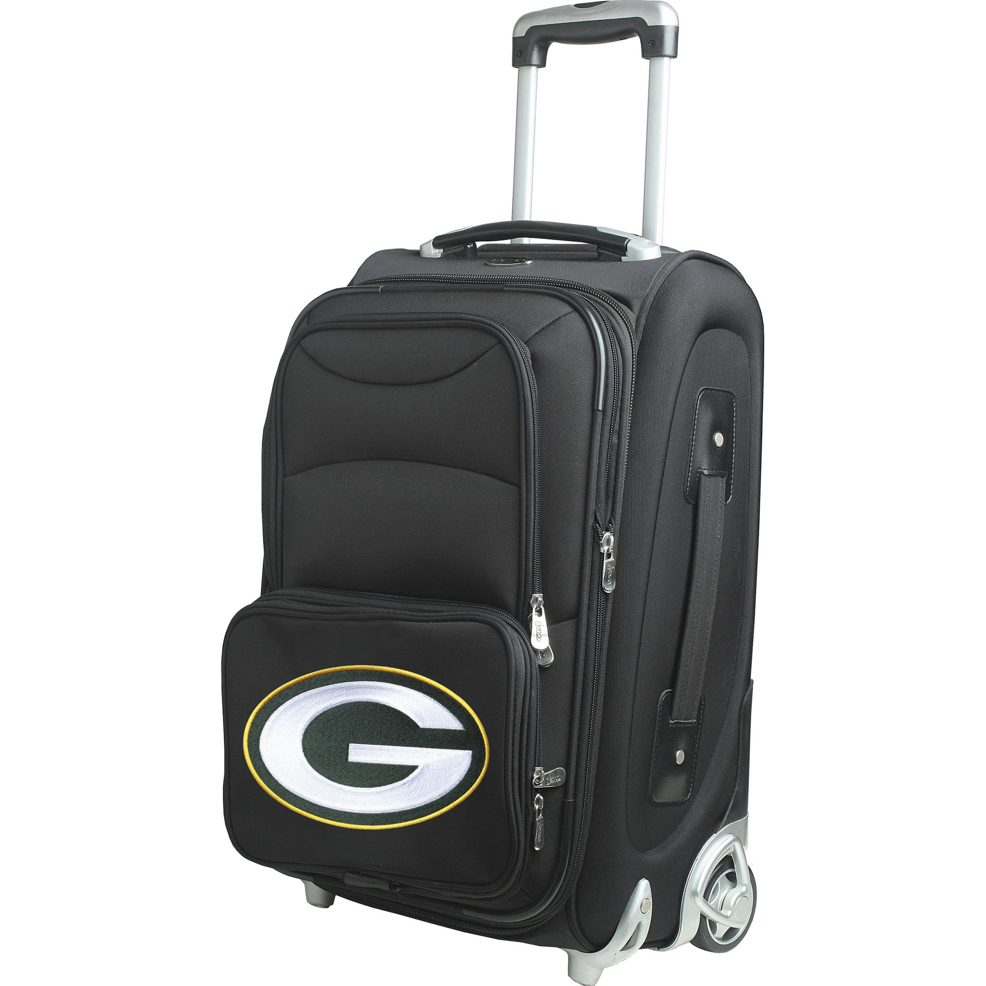 """Denco NFL 21"""" Carry-On, Green Bay Packers by Mojo Licensing"""