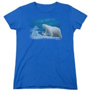 Wildlife Nomad Of The North Womens Short Sleeve Shirt