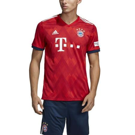 adidas Men's Bayern Munich Home Jersey 2018/2019 | - Adidas Mens Replica Road Jersey