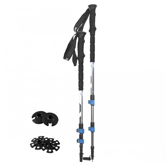 Click here to buy CARBON LITE Trekking Pole Red by Airhead Sports Group.