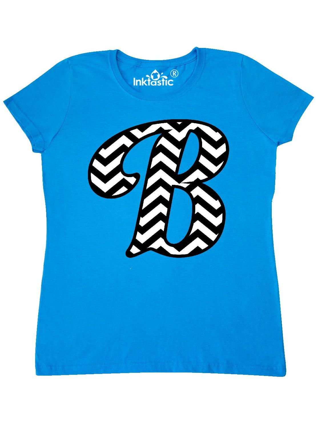 inktastic Chevron Monogram Letter B Toddler T-Shirt