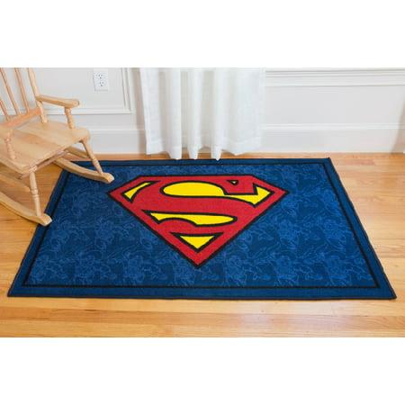 Superman Room Decor (Superman 39x58 in. Rug)