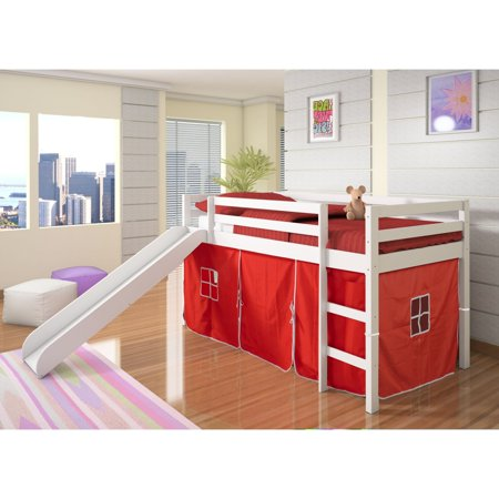 Donco Kids Bunk Bed With Tent
