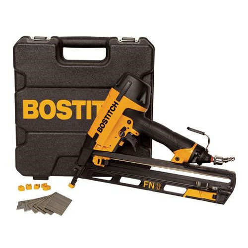 Bostitch N62FNK-2 15-Gauge 2-1 2 in. Oil-Free Angled Finish Nailer Kit by STANLEY BOSTITCH