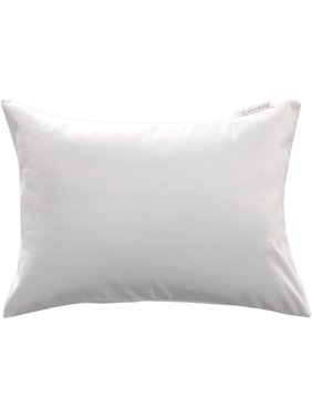 "AllerEase 14"" x 20"" Zippered Travel Pillow Protector"